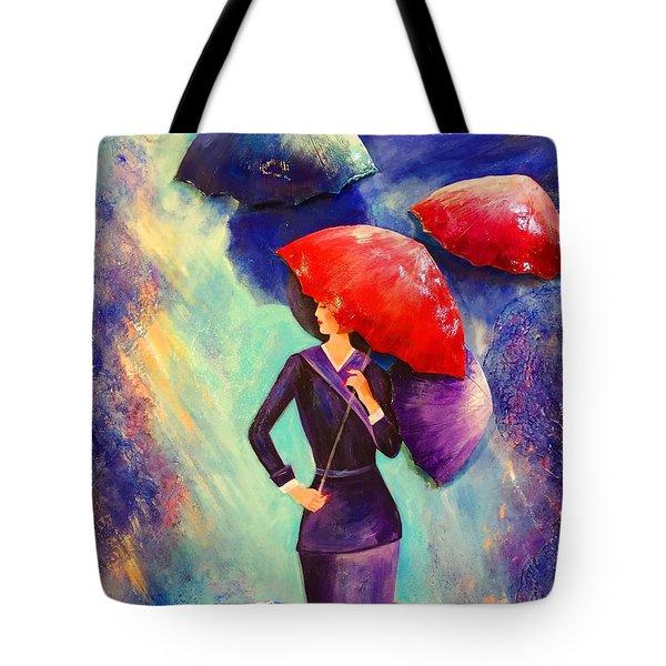The Purple Lady Tote Bag