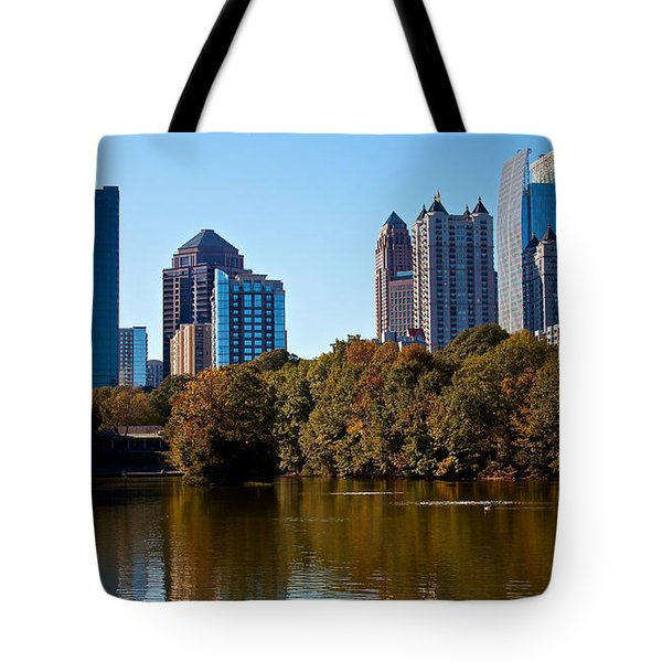 Midtown In The Fall Tote Bag