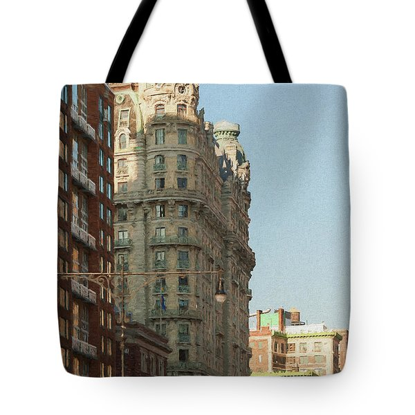 Midtown Manhattan Apartments Tote Bag