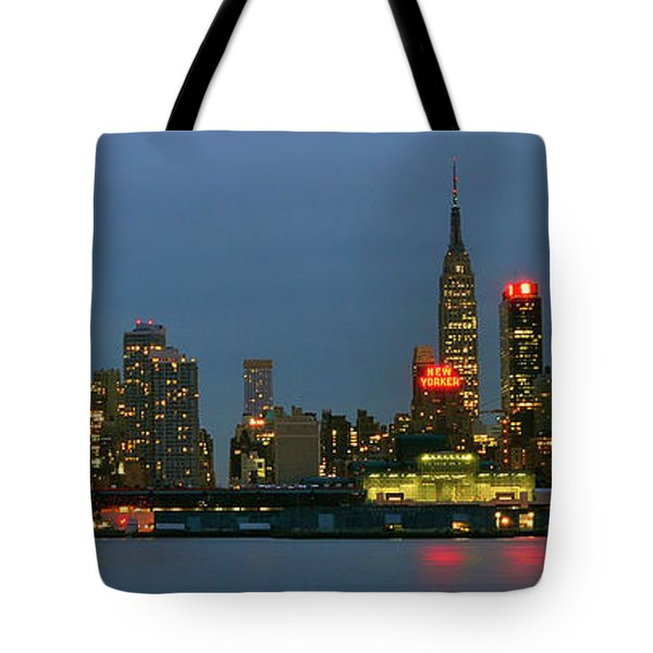 Tote Bag featuring the photograph Midtown Manhattan by Zawhaus Photography