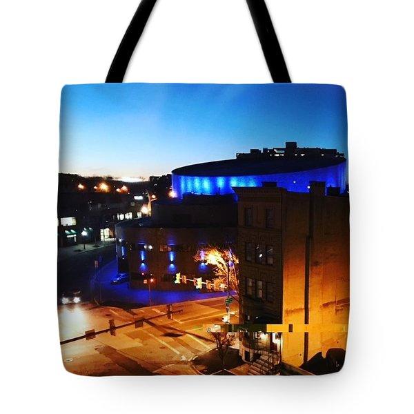 Midtown Neon Tote Bag