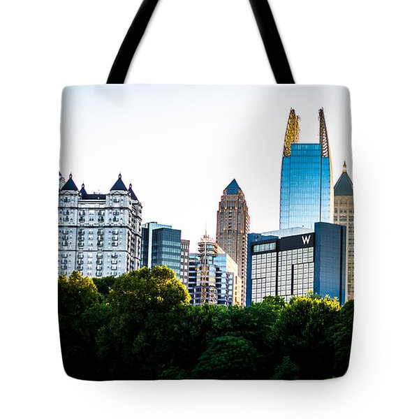 Midtown Skyline Tote Bag