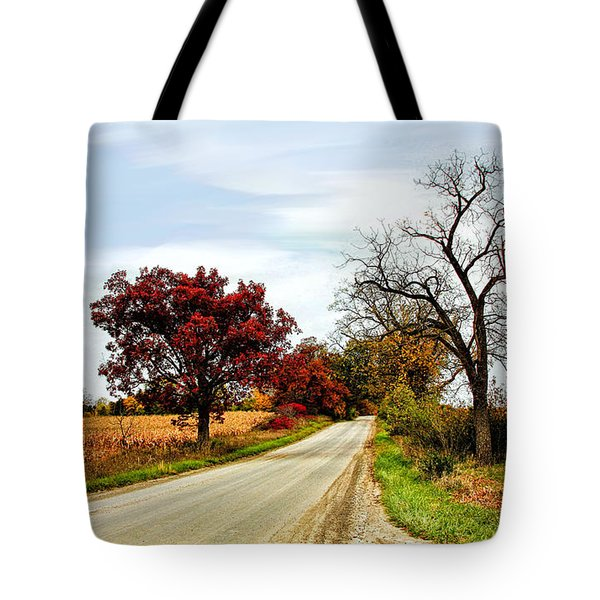 Midwest Autumn  Tote Bag