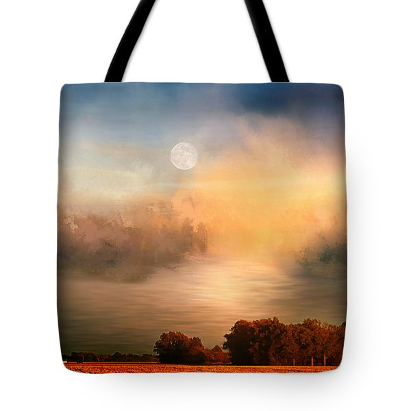 Midwest Harvest Moon Tote Bag