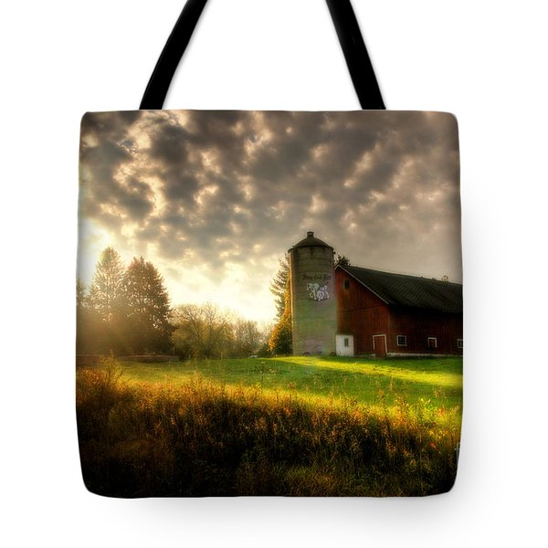 Midwest Morning Tote Bag
