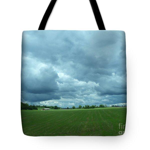Midwestern Sky Tote Bag