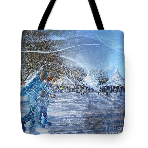 Midwinter Blues Tote Bag