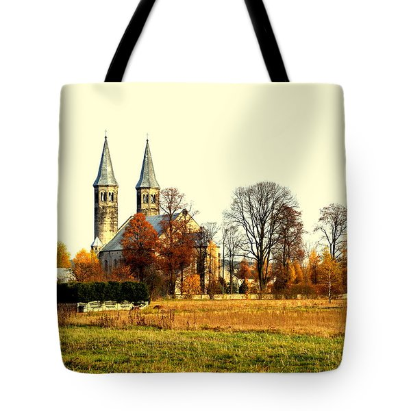 Miedzierza Church Tote Bag
