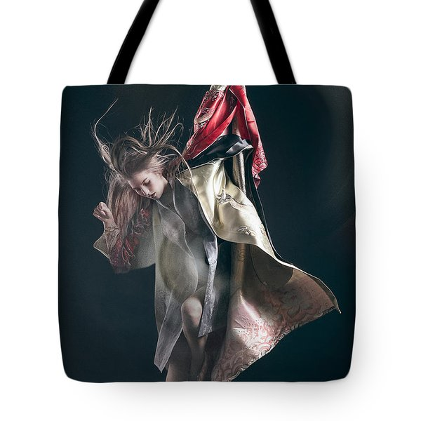 Miegakure - The Fight #3 Tote Bag