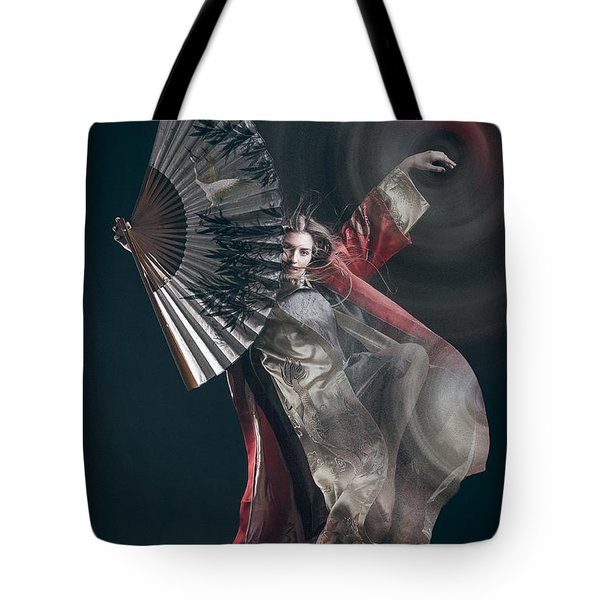 Miegakure - The Fight #4 Tote Bag