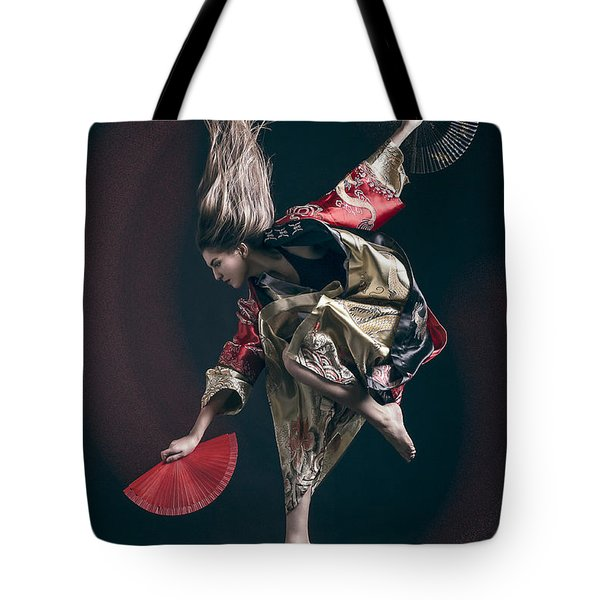 Miegakure - The Fight #6 Tote Bag