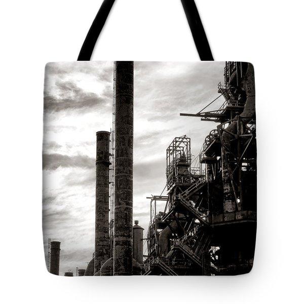Mighty Bethlehem Steel Tote Bag