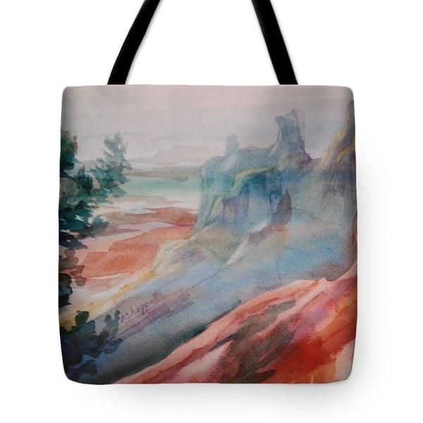 Mighty Canyon Tote Bag