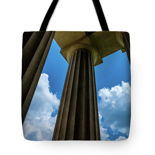 Mighty Columns  Tote Bag