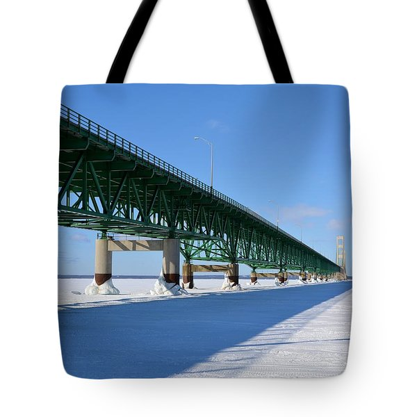 Mighty Mac On Ice Tote Bag