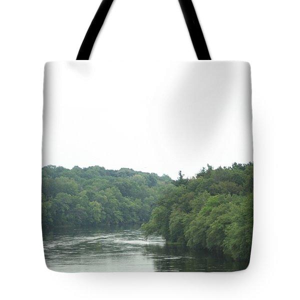 Mighty Merrimack River Tote Bag