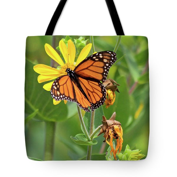 Mighty Monarch   Tote Bag