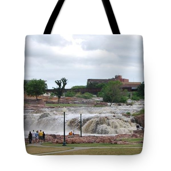 Mighty Sioux Falls Tote Bag