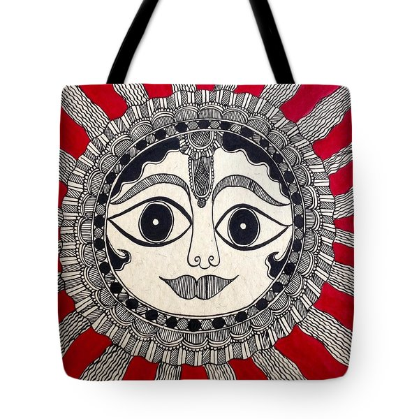 Mighty Sun Tote Bag