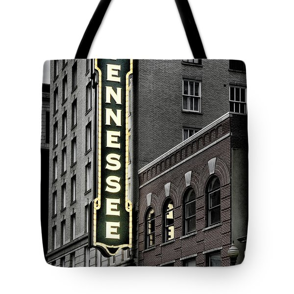 Mighty Tennessee Tote Bag