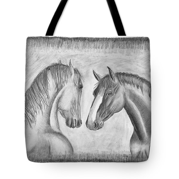 Mighty Vs Gentle Tote Bag