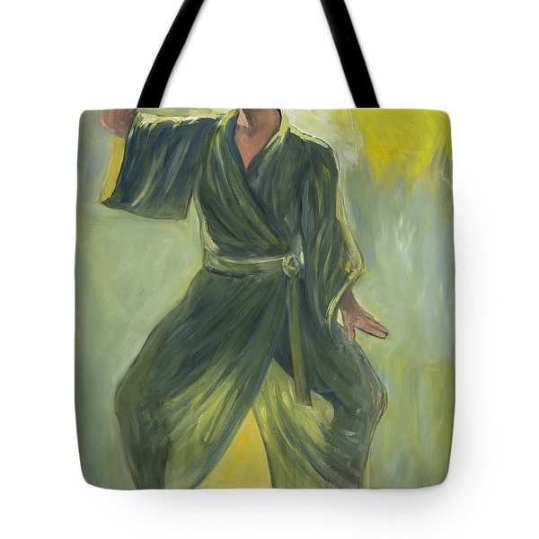 Mighty Woman Kick-butt Tote Bag