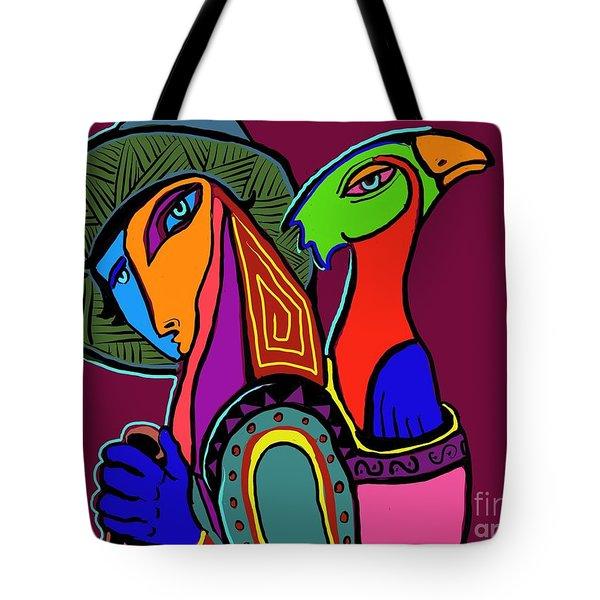 Migrating Bird Tote Bag by Hans Magden