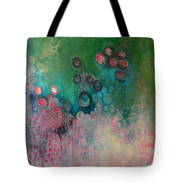 Tote Bag featuring the painting Migration by Laurie Maves ART