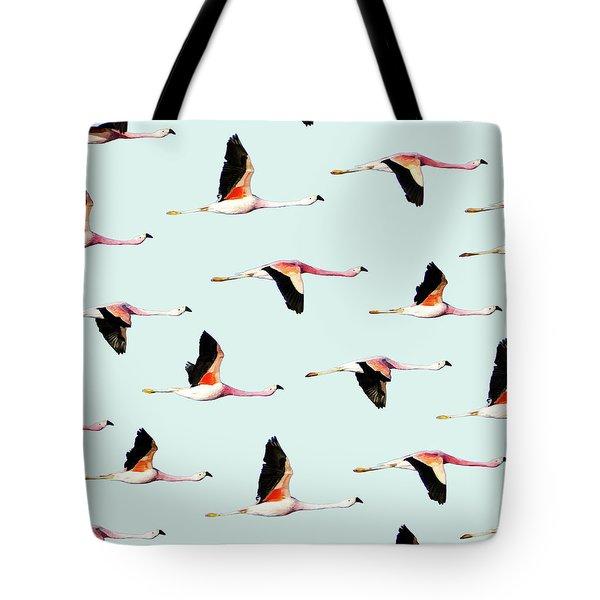 Migration Tote Bag by Uma Gokhale