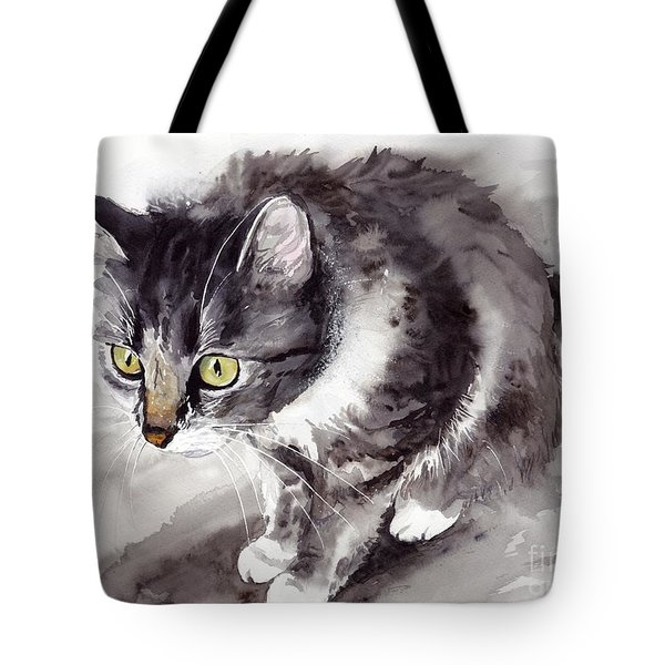 Mike Mice Catcher Tote Bag