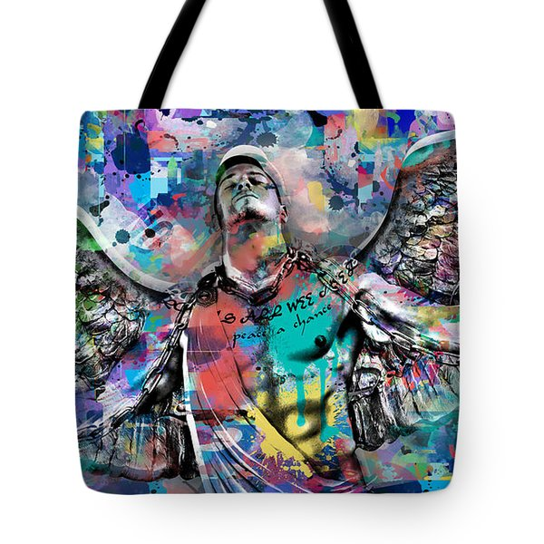 Mike Painting  Tote Bag
