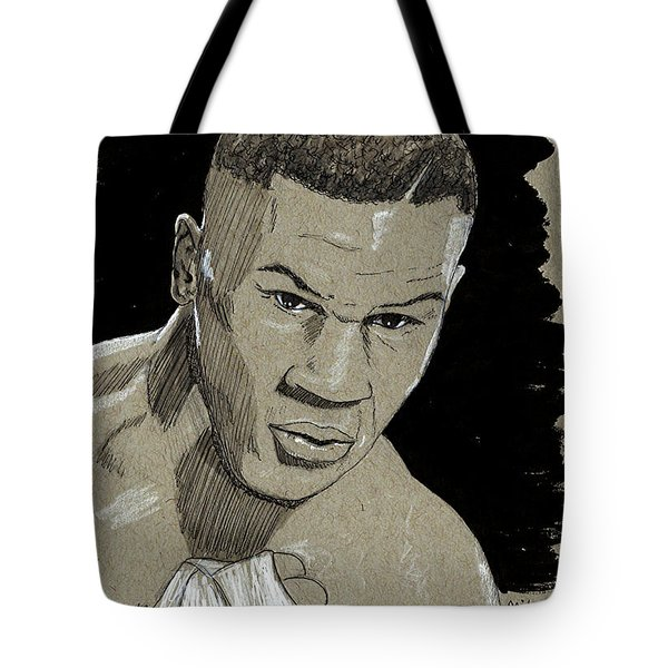 Mike Tyson Tote Bag