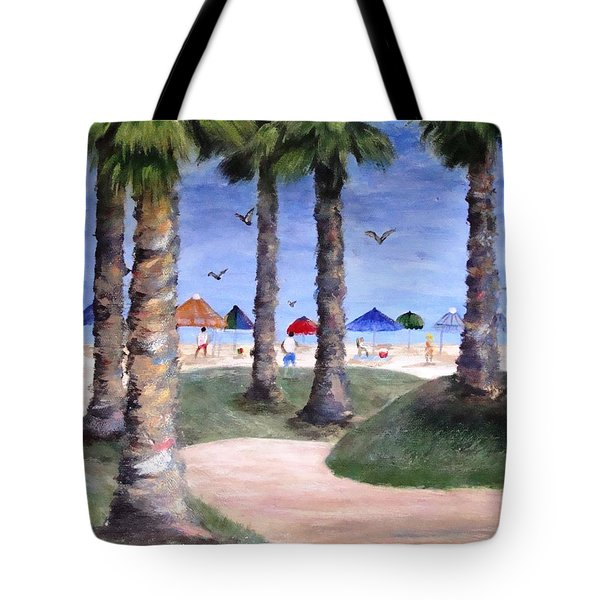 Mike's Hermosa Beach Tote Bag by Jamie Frier