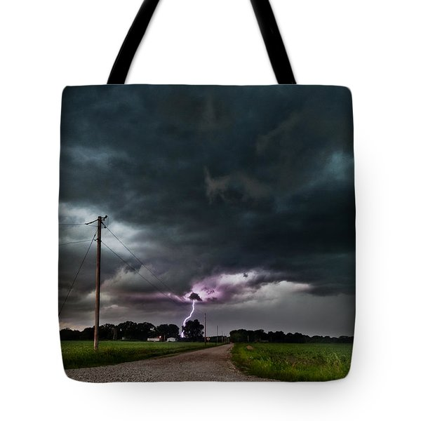 Mikey's Lightning  Tote Bag