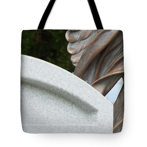 Tote Bag featuring the photograph Miksang 6 Angel by Theresa Tahara