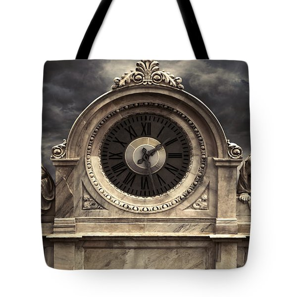 Milan Clock Tote Bag