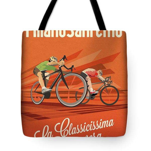 Milan San Remo Tote Bag