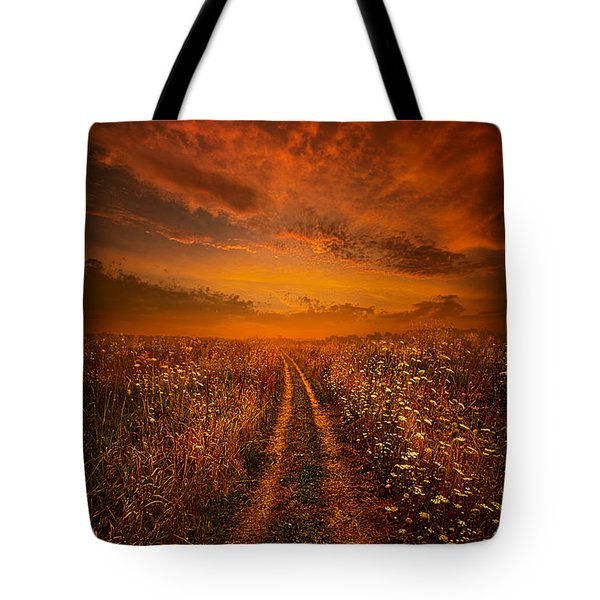 Miles And Miles Away Tote Bag