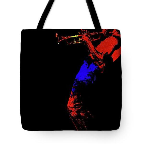 Miles Davis Pop Art Minimalism Tote Bag
