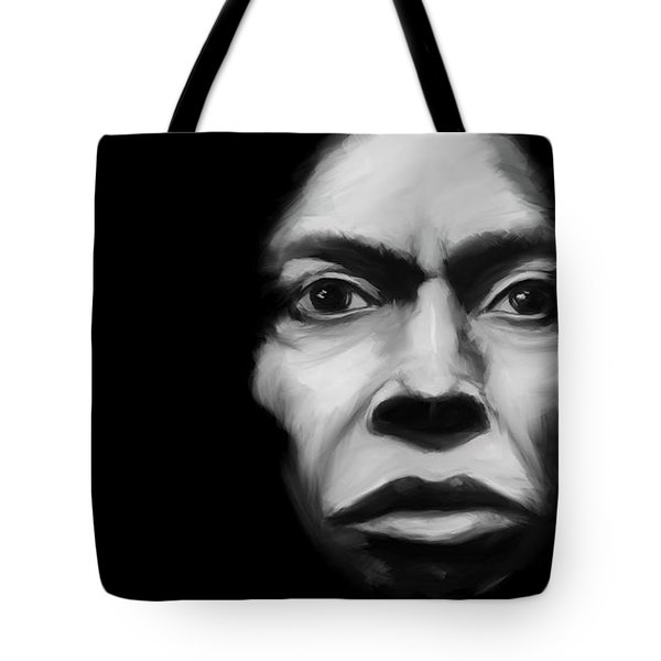 Miles Davis Tutu Tote Bag