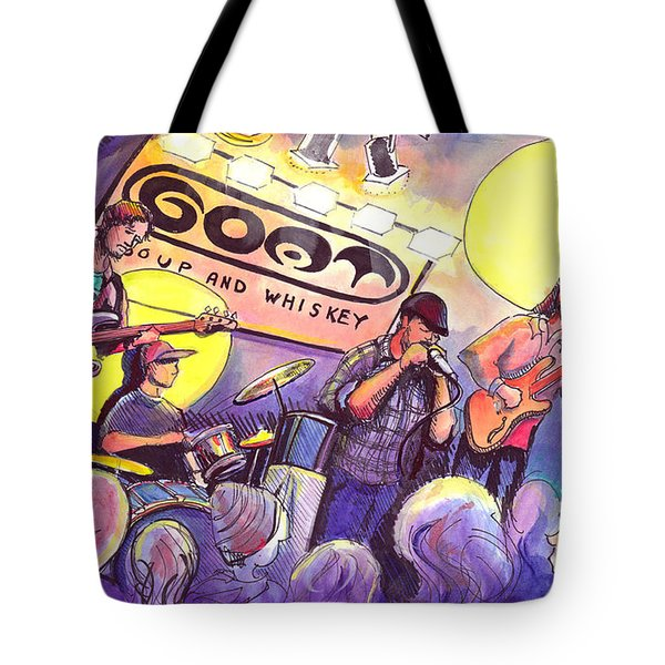 Miles Guzman Band Tote Bag by David Sockrider