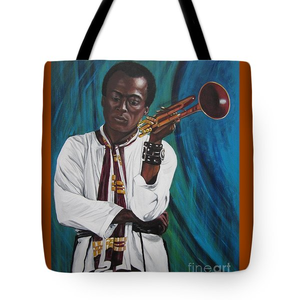 Blue Cat Productions     Miles-in A Really Cool White Shirt Tote Bag