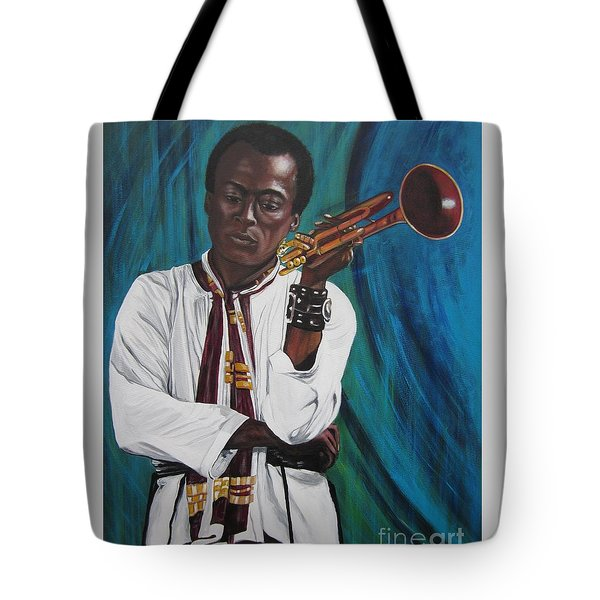 Miles-in A Really Cool White Shirt Tote Bag