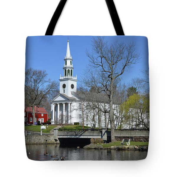 Milford Congregational Church Tote Bag