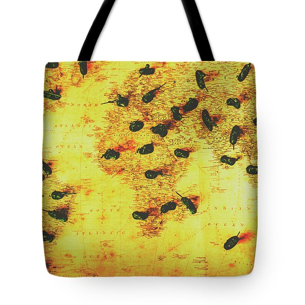 Military Expansion Tote Bag