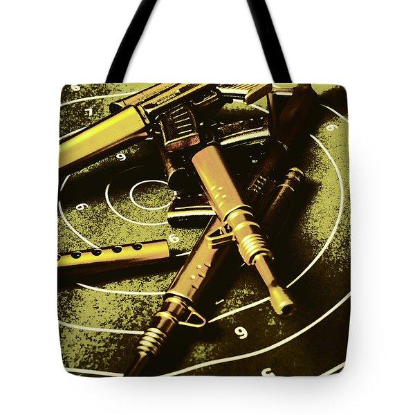 Military Green Pop Art  Tote Bag