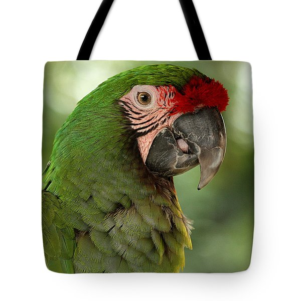 Military Mccaw Tote Bag by Sheila Brown