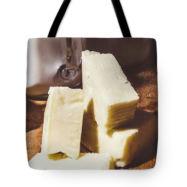 Milk And Cheese Tote Bag