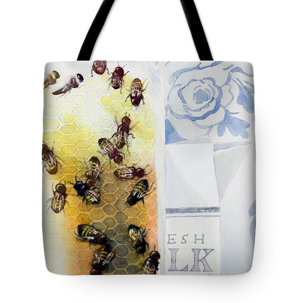 Milk And Honey Tote Bag