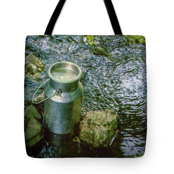 Milk Can - Wales Tote Bag